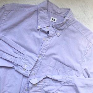 Uniqlo Purple Button Down